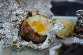 Batata com ovo