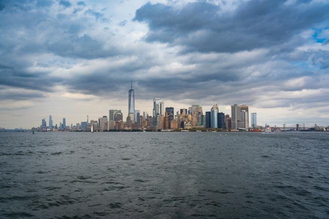 Vista do Cruzeiro em Manhattan